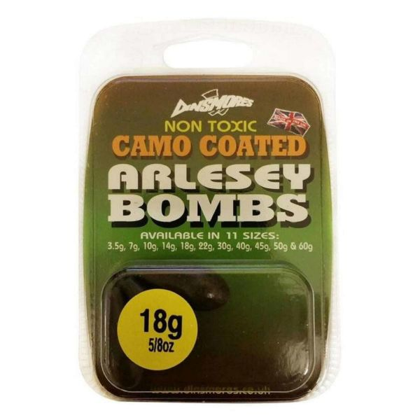 Dinsmores Non Toxic Camo Coated Arlesey Bombs 10g